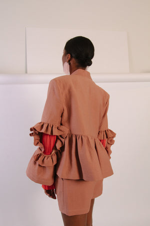Frida Jacket, Blush