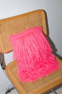 Hairy Pillow, Pink