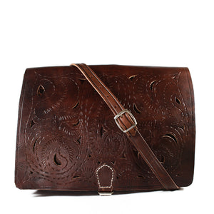 CHERRY-PAISLEY-MESSENGER-Moroccan-leather-Handmade-Handbag-MoroccansWay