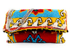 WAVE Carpeted Handmade TOUI Clutch
