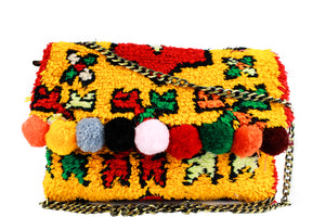 GOLDIE-purse-Moroccan-handmade-wool-MoroccansWay