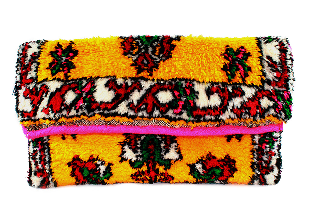 ORIENT-clutch-Moroccan-handmade-wool-MoroccansWay