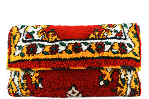 DINA-clutch-Moroccan-handmade-wool-MoroccansWay