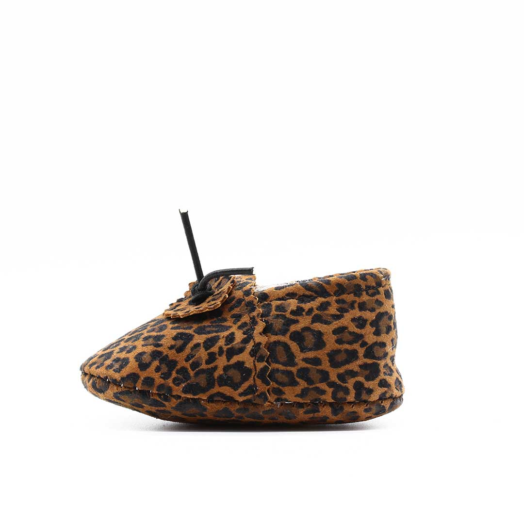 Leopard Baby Moccasin