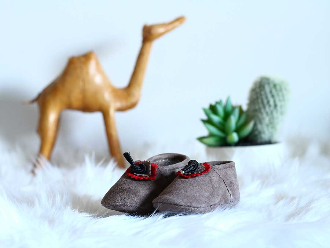 Stone Baby Moccasins