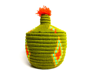 green Haven Pom Berber Basket