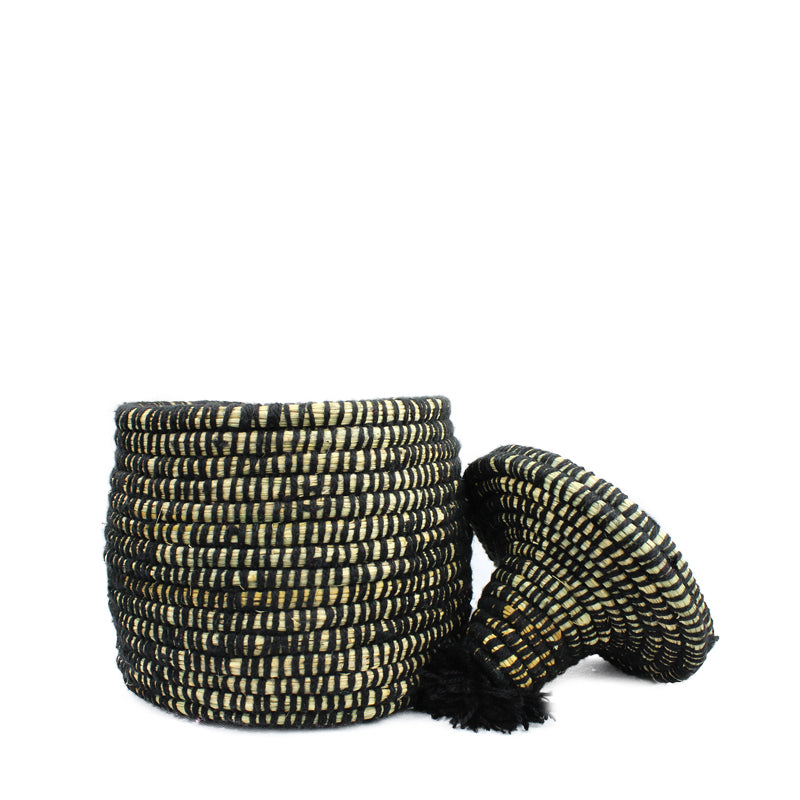 """BLACKIE"" Berber Bread basket"