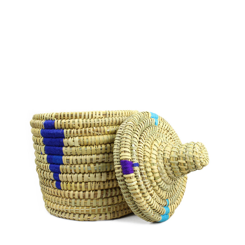 """AZUL DIAMOND"" Berber Bread basket"