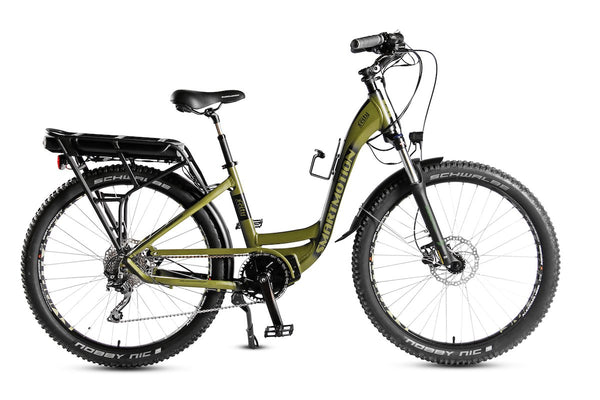 X-City by Smart Motion - All terrain Step through Electric Bike that will take you anywhere. Delivered freight FREE to YOUR Door