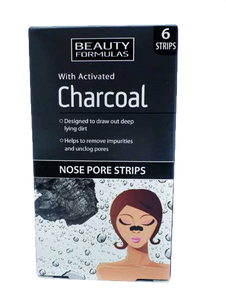 Charcoal næse strips
