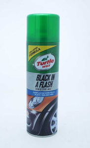 TURTLE WAX BLACK IN A FLASH TRIM&TYRE WAX