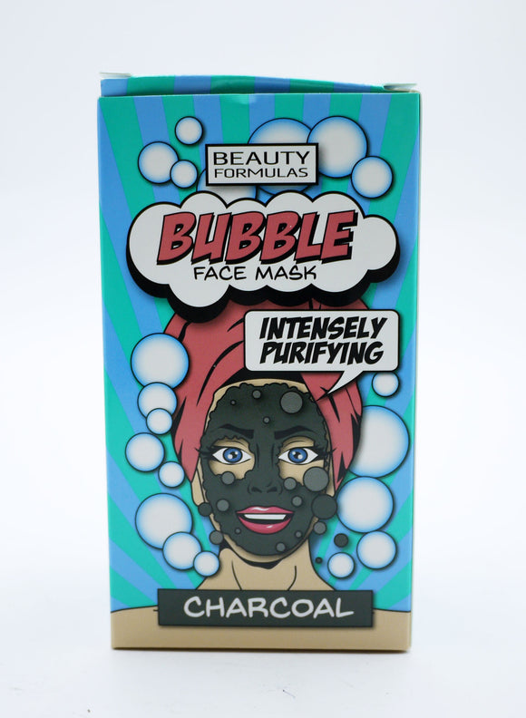 BEAUTY FORMULAS BUBBLE CHARCOAL FACE MASK