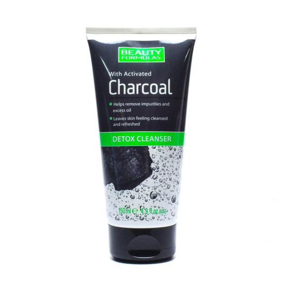 BEAUTY FORMULAS CHARCOAL DETOX CLEANS