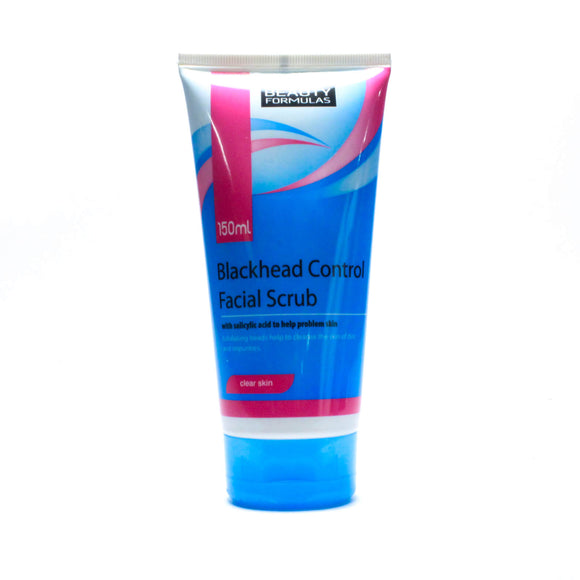 BEAUTY FORMULAS BLACKHEAD CONTROL FACIAL SCRUB