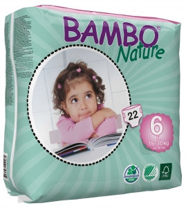 BAMBO BLE NATURE XL 16-30 KG 22 stk