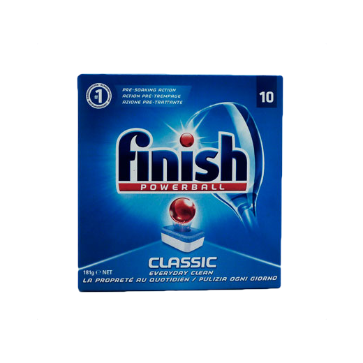 Finish Powerball classic opvasketabs - 10 stk