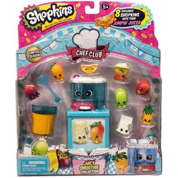 Shopkins 8 stk. exclusive pakke - juicy smoothie - Besto.dk
