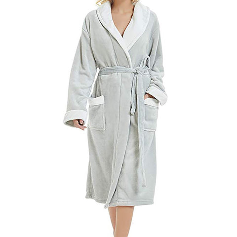 Plush Bathrobe