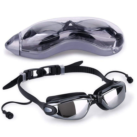 Swimming Goggles with Earplugs