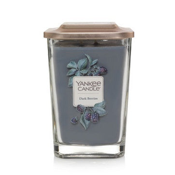 Dark Berries Large 2-Wick Square Candle
