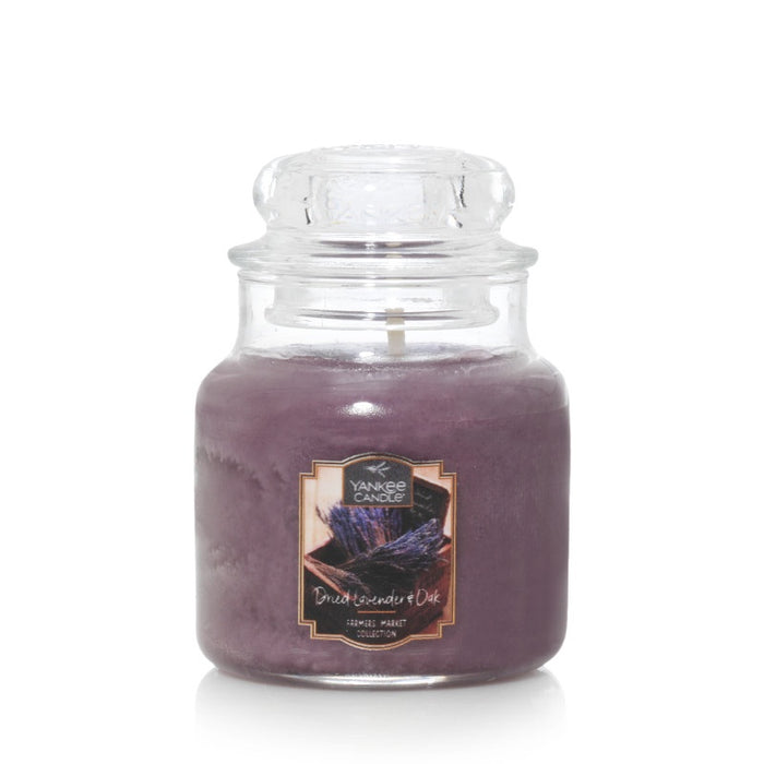 Dried Lavender & Oak Small Jar Candle