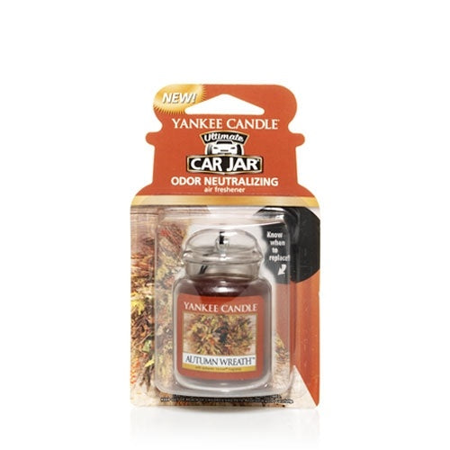 Autumn Wreath Car Jar Ultimate