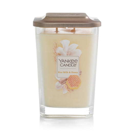 Rice Milk & Honey Large 2-Wick Square Candle