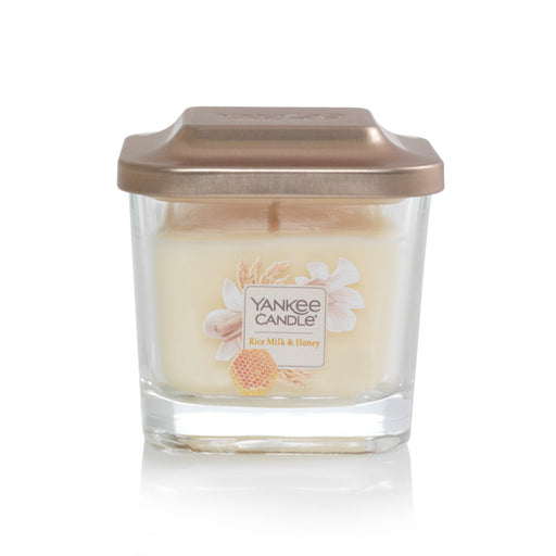 Rice Milk & Honey Small 1-Wick Square Candle
