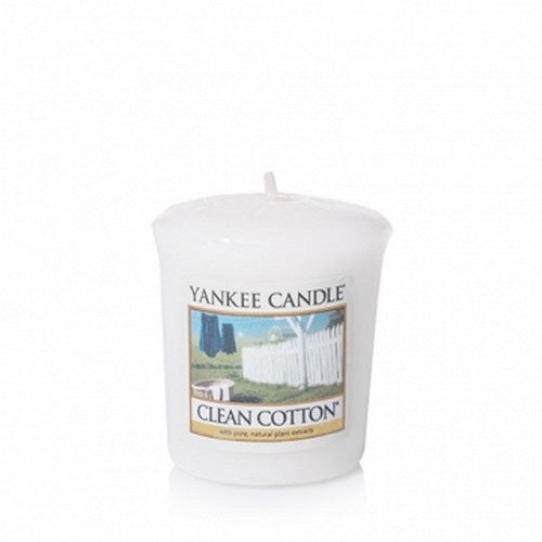 Clean Cotton Samplers Votive Candle