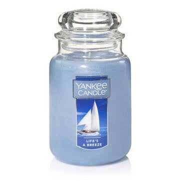 Life's A Breeze Large Jar Candle