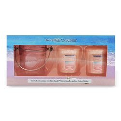 Pink Sands Samplers Votive Gift Set