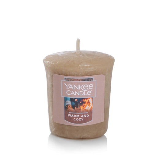 Warm & Cozy Samplers Votive Candle