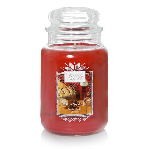After Sledding Large Jar Candle