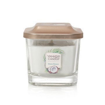 Shore Breeze Small 1-Wick Square Candle