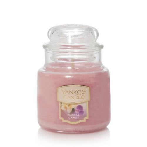 Floral Candy Small Jar Candle