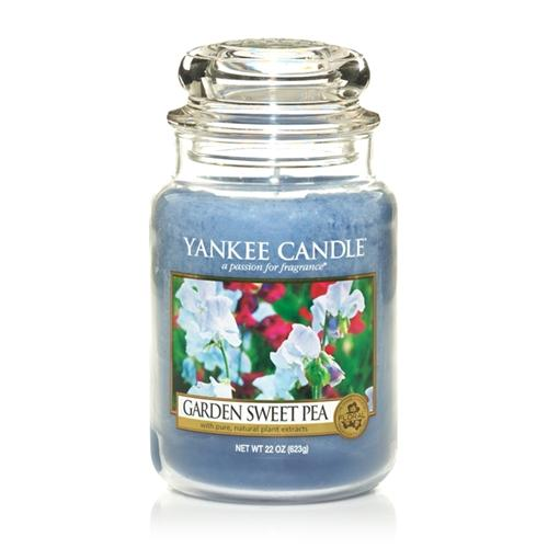 Garden Sweet Pea Large Jar Candle by Yankee Candle