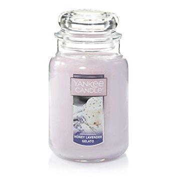 Honey Lavender Gelato Large Jar Candle by Yankee Candle