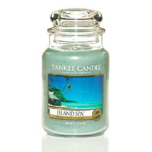 Island Spa Large Jar Candle