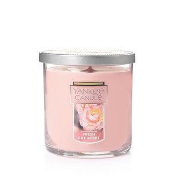 Fresh Cut Roses Small Tumbler Candle