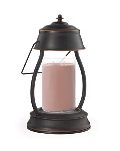 Hurricane Lantern Oil Rubbed Bronze Candle Warmer