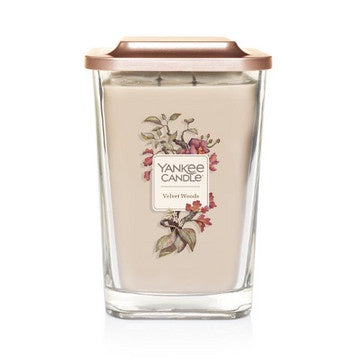 Velvet Woods Large 2-Wick Square Candle