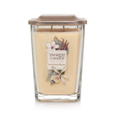 Sweet Nectar Blossom Large 2-Wick Square Candle