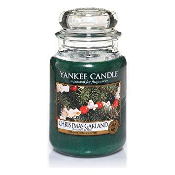 Christmas Garland Large Jar Candle by Yankee Candle - Pure