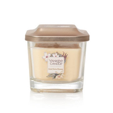 Sweet Nectar Blossom Small 1-Wick Square Candle