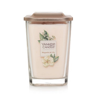 Magnolia & Lily Large 2-Wick Square Candle