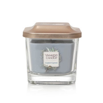 Coastal Cypress Small 1-Wick Square Candle