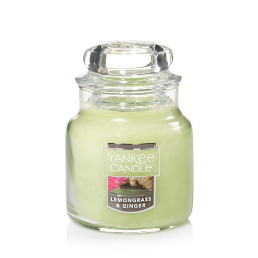 Lemongrass & Ginger Small Jar Candle