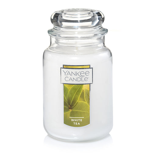 White Tea Large Jar Candle
