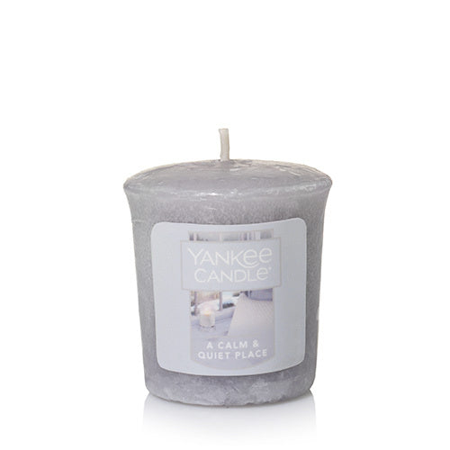 A Calm & Quiet Place Samplers Votive Candle