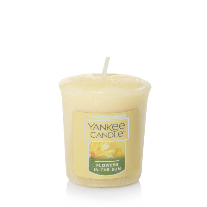 Flowers In The Sun Samplers Votive Candle